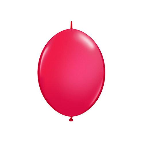 "【QuickLink】6""Red つながる風船  レッド 10枚〔DM配送可〕"