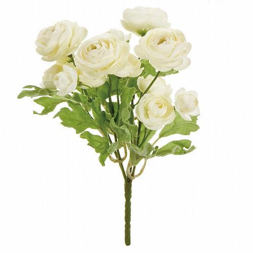 カレンラナンブッシュ(クリーム)アーティフィシャルフラワー 造花