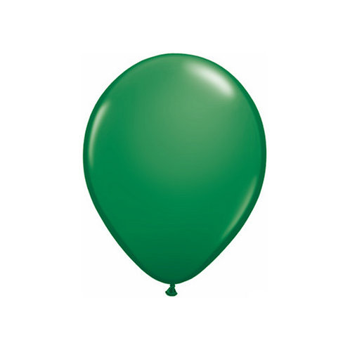 "【Qualatex】11""R Green 風船 グリーン 10枚〔DM配送可〕"