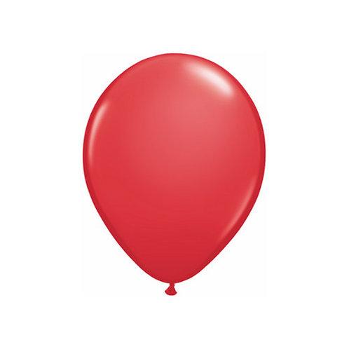 "【Qualatex】11""R Red 風船 赤 10枚〔DM配送可〕"