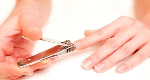 Nail cut and file
