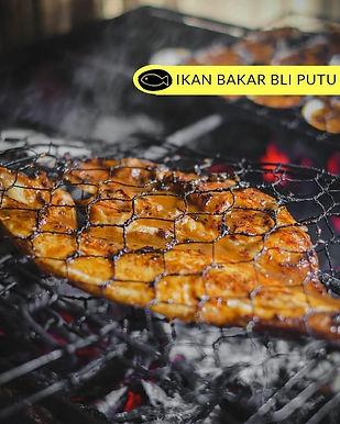 Grilled fish from Ikan Bakar Bli Putu