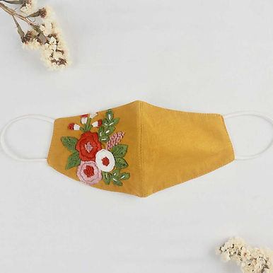 Hand-Embroidery Mask Special Bundled Price 3 Masks [VOUCHER]