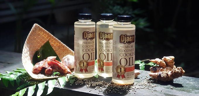 Premium Coconut Cooking Oil
