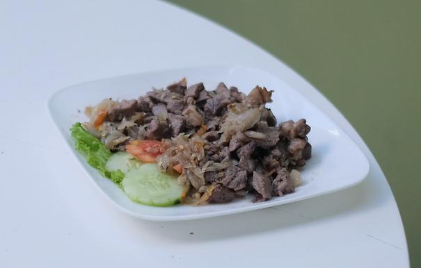 Fried pork Sune Cekuh From Sareng Sareng Ubud