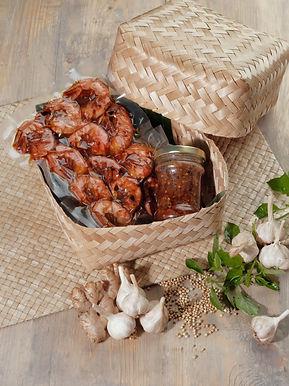 Honey Grilled Shrimp from Bale Udang