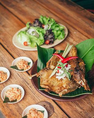 Memedi Fried Duck from Bale Udang