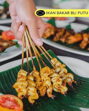 Grilled squid from Ikan Bakar Bli Putu