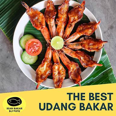 Grilled Shrimp from Ikan Bakar Bli Putu