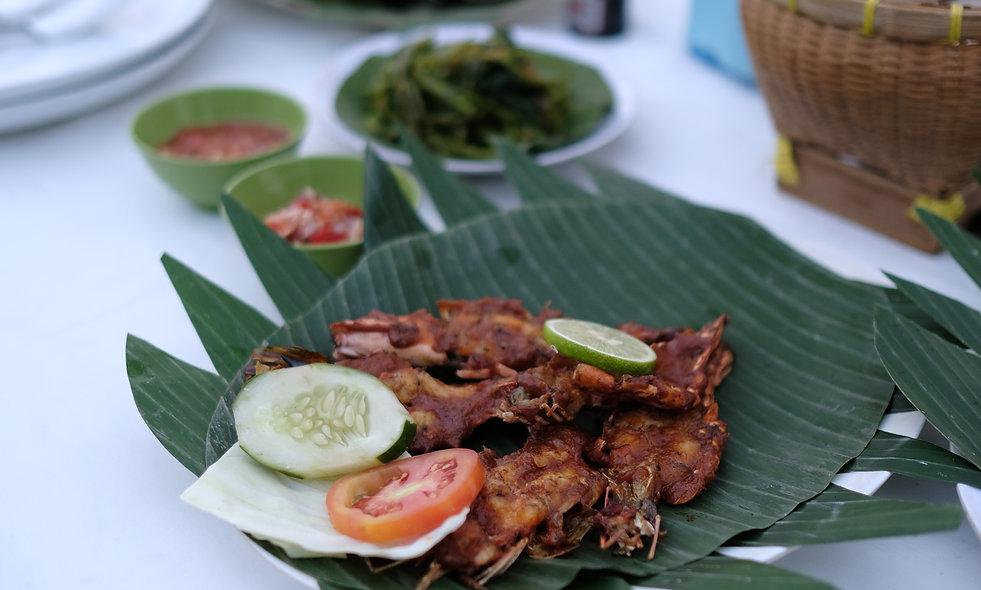 Ikan Bakar from New Bayang Cafe