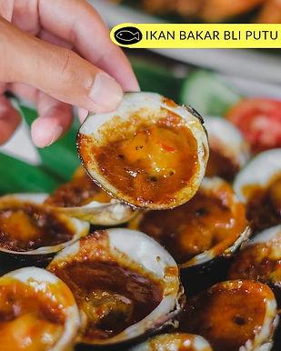 Grilled Shells from Ikan Bakar Bli Putu