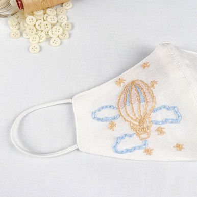 Hand-Embroidery Mask THEMATIC Pattern [VOUCHER]