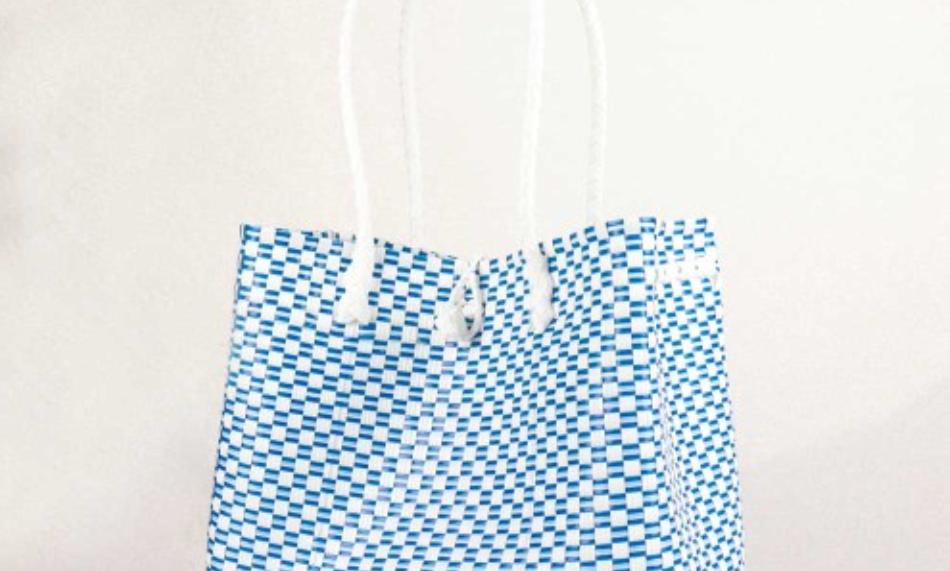 Washable Designer Woven Bag - Pretty & Hygiene