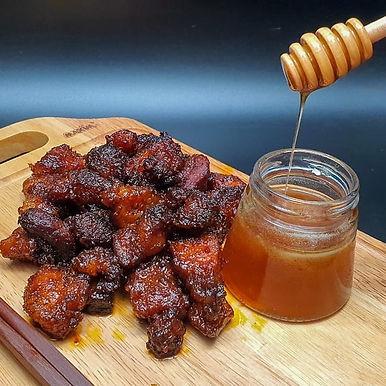 Honey BBQ Pork Bites from Raf's Kitchen