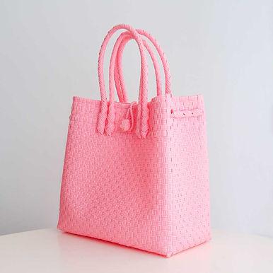 Disinfectant-ready Designer Woven Bag Cute/Small [VOUCHER]