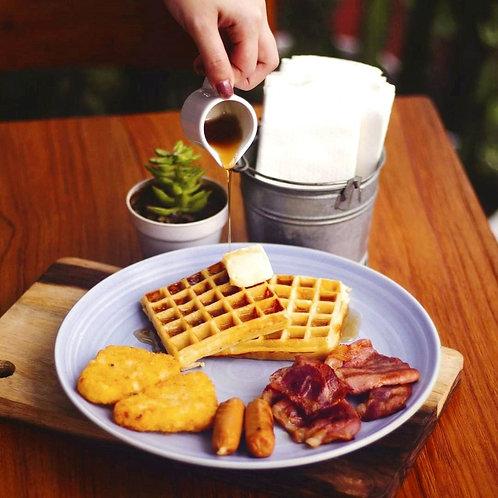 IDR 35K Breadbasket Breakfast Menu Voucher