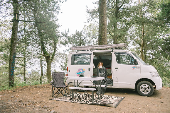 A whole week of exploring Bali with campervan