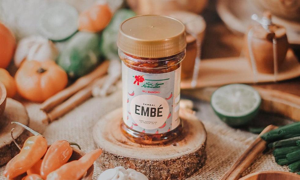 Sambel Embe dari Nasi Ayam Kedewatan