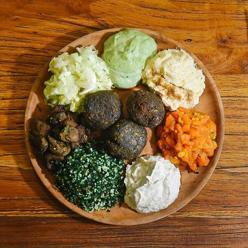 IDR 25K Breadbasket Vegan Falafel Balls Voucher