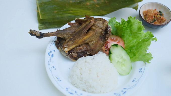 Crispy Duck from Sareng Sareng Ubud