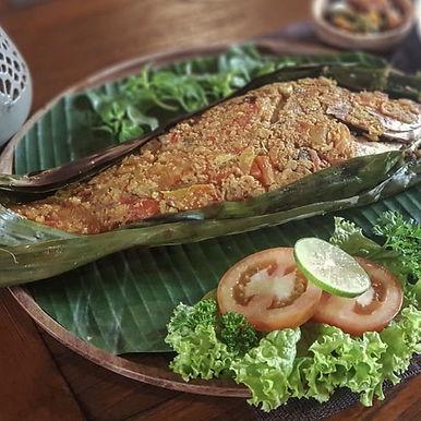 Pepes Ikan from Sareng Sareng Megibung