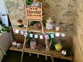 LS traiteur carcassonne candy bar