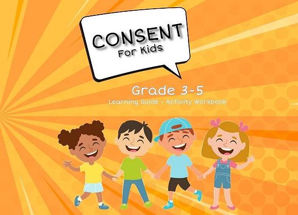Consent For Kids TEACHER EDITION Grade 3-5