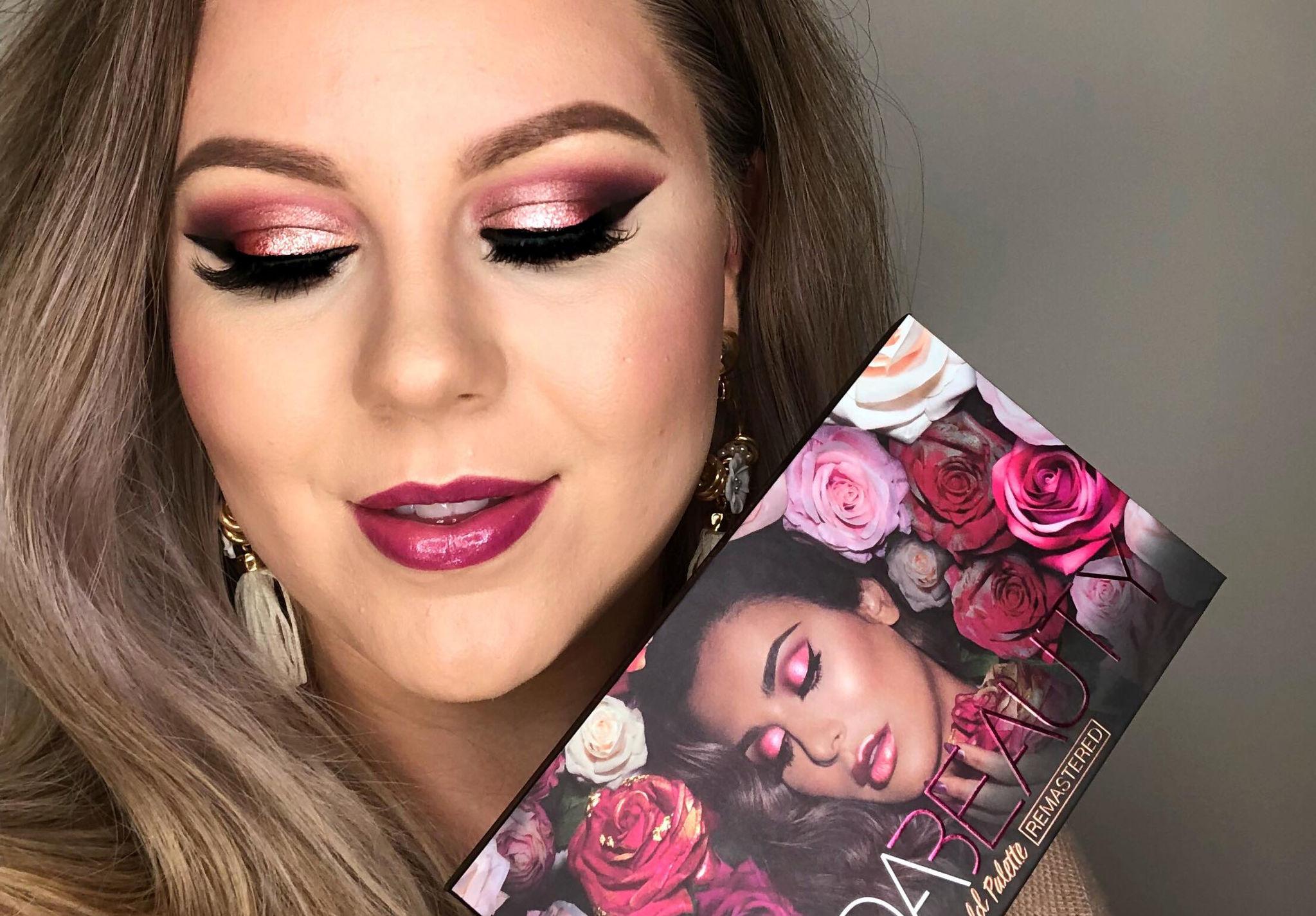 �ล�าร���หารู��า�สำหรั� Huda Beauty Rose Gold Remastered Palette
