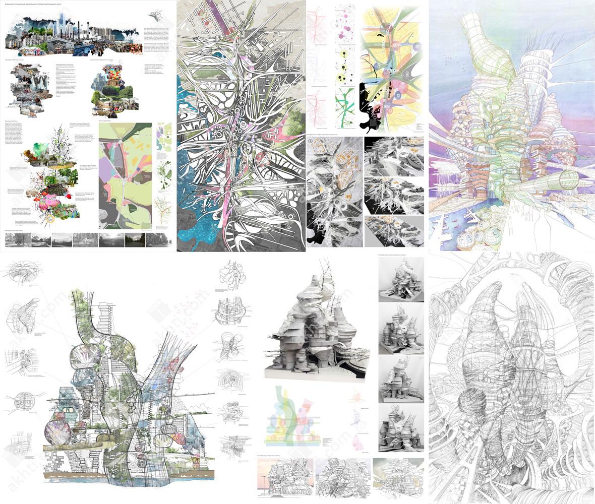 Akhti.com - TIArch - Projects - Node - Karina Ashrapova Expo