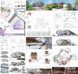 Akhti.com - TIArch - Projects - Culture - Theatre by Ilsiiar Rakhimova 01