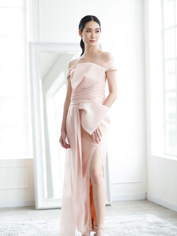 SOTHIDA Rosalia pink Dress 4
