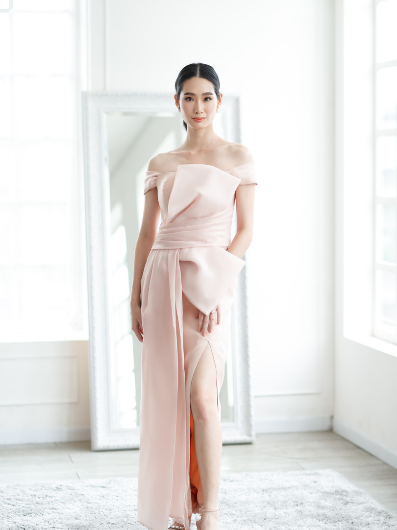 SOTHIDA Rosalia pink Dress 3