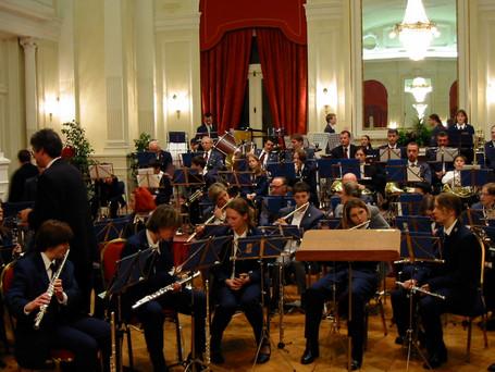Concert national des harmonies et fanfares am Cercle an der Stad, 2001 zesummen mat der Uespelter Musek