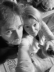 Selfie de Cath Bellières et Serge Gastineau profs de Yoga