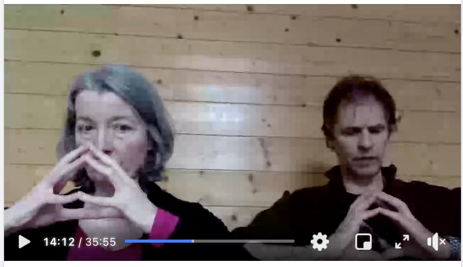 Live Cath et Serge Yoga Pranayama