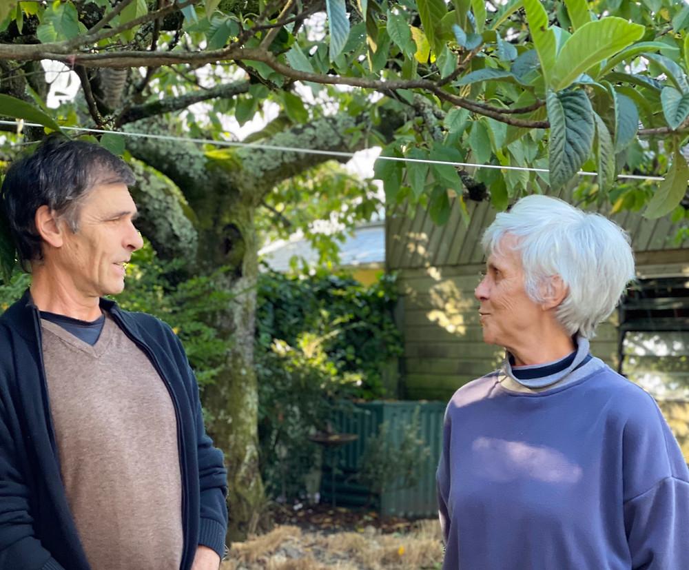 Portrait d'Isabelle Poupard et Serge Gastineau