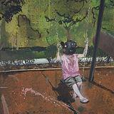 Black Peppa, 2020, oil on canvas, 71 x 5
