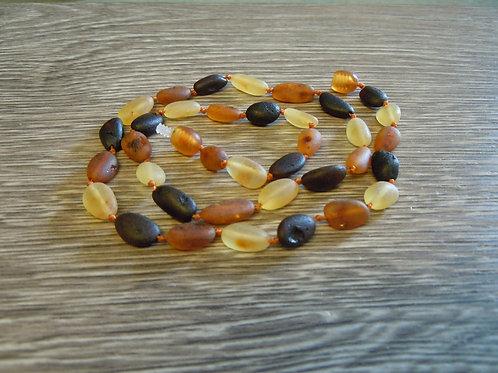 #1467 - Tricolor Raw Bean