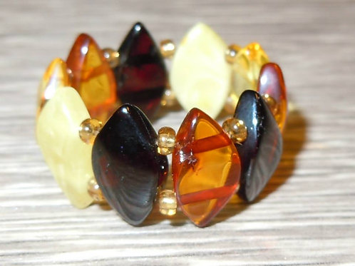 #1439 - Diamond Shaped Multicolor