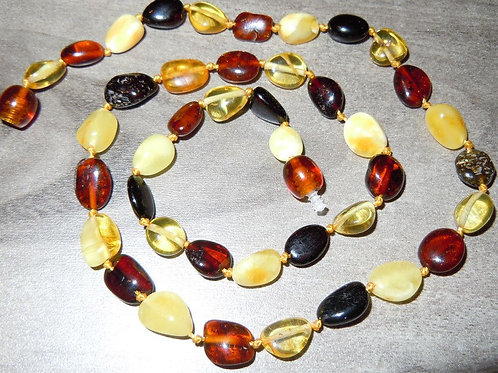 #1368 - Mixed Color Oval Stones
