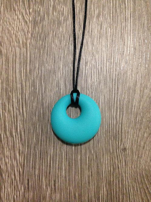 #1531 - Turquoise Silicone Mum's Pendant