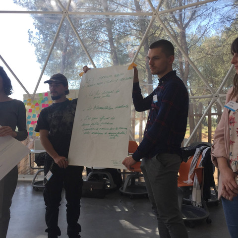 Facilitation - Conférence Citoyenne Nationale des Jeunes - Aix en Provence (13)