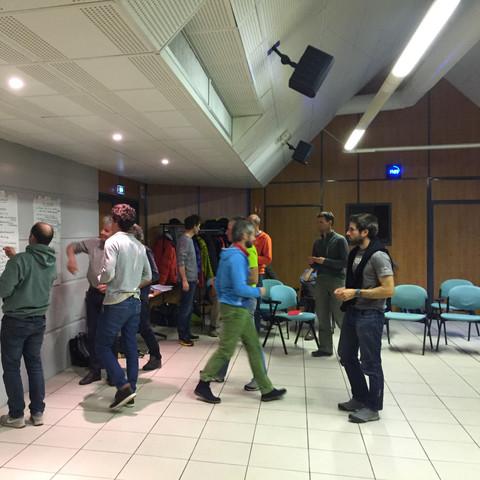 Séminaire de rencontre inter-guides - SNGM - Porte de Savoie (73)