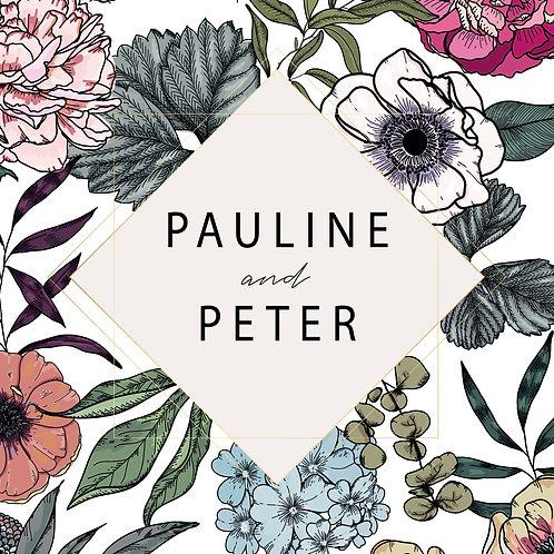 Pauline Folded Card