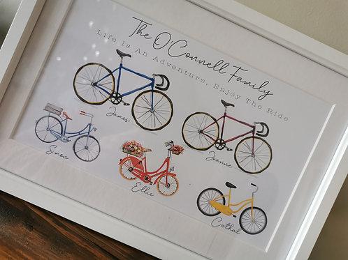Family Bike Frame