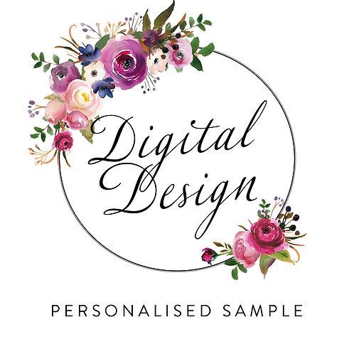 Personalised Digital Sample