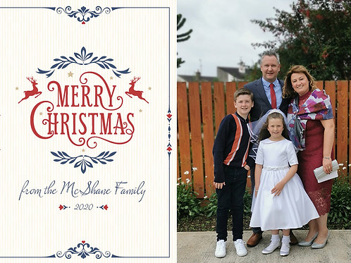 Personalised Christmas Postcards