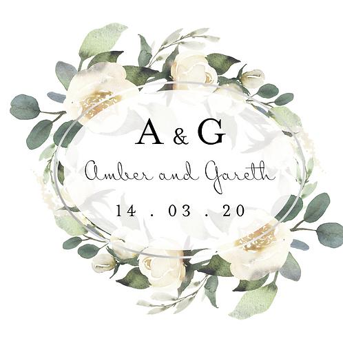 Amber Trifold Invitation