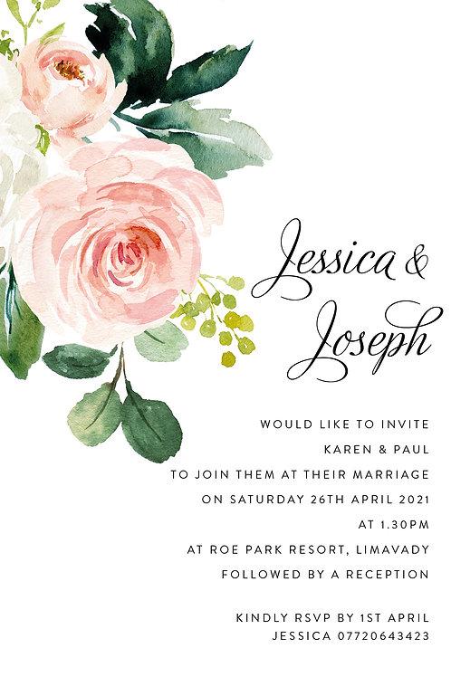 Jessica Flat Card
