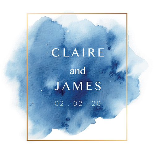 Claire Folded Card